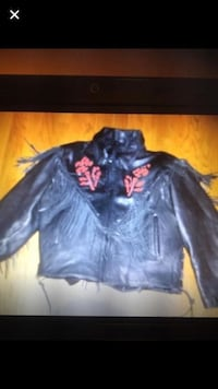 Biker jacket lined woman's size xl Essex, 21221