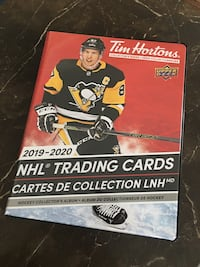 Tim Hortons trading cards 2019-2020+ Official Collector's album Оквилл, L6M 5K8