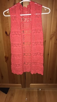women's pink knitted cardigan Calgary, T2E