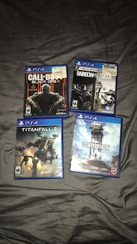 4 ps4 games Whittier, 90605