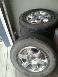 Ford f150 rims and tires Edmonton, T5B 2Z3