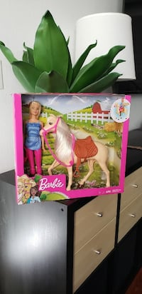 NEW Barbie Doll and Horse Equestrian Toy Set Brand New  Ventura
