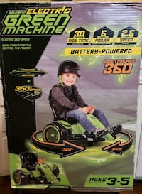 Green Machine 6V 360 Ride-On Toy (New) Hendersonville, 37075