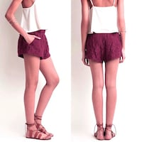 Medium lace shorts Toronto, M5P 2N3