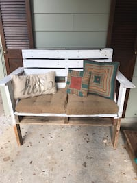 gray and brown wooden bed frame 1255 mi