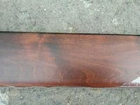 Birch transition trim - mahogany stained  Port Coquitlam, V3B