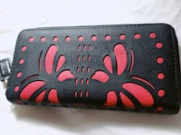 Black and red butterfly  wallet St. Catharines, L2M 4G1