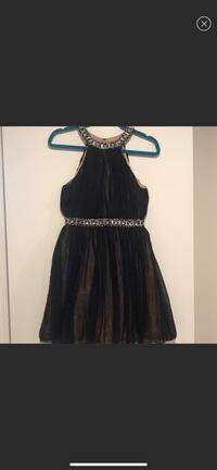 Short ball gown with bling!