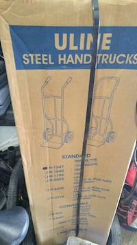 Uline Steel handtrucks b ox