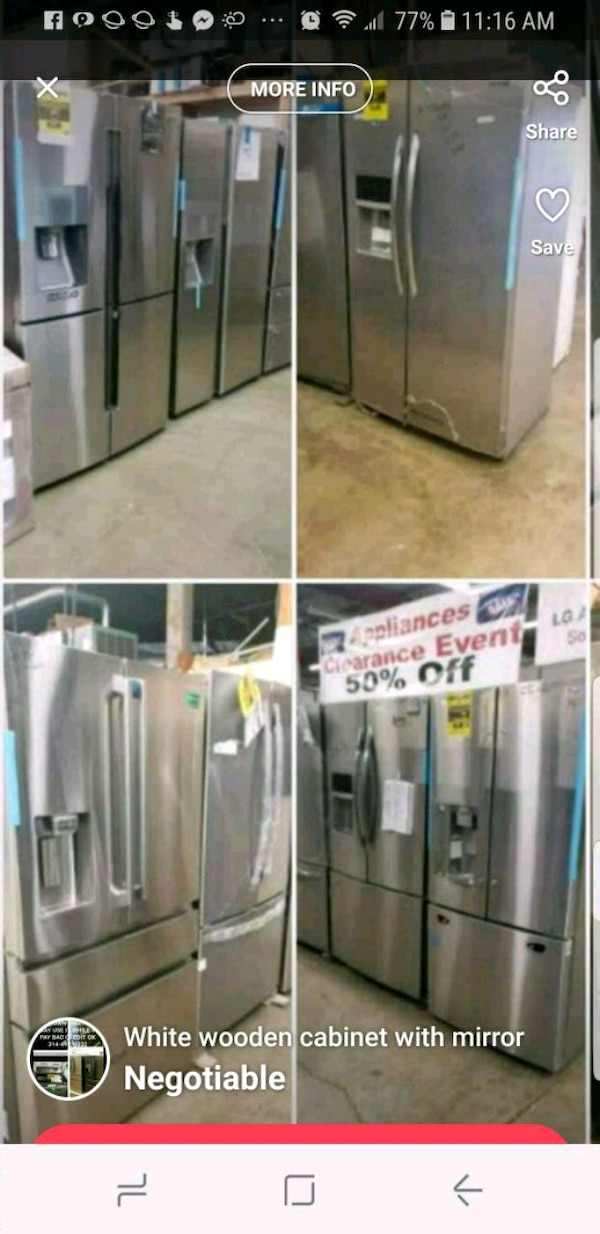 Used All Refrigerators Are Marked Down For Sale In St Louis Letgo
