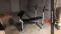 black and gray bench press Winchester, 22602