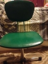 1950s typist chair green and Chrome great conditio Victoria, V8T