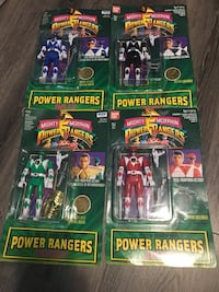 Vintage MIB 1994 MMPR Power Rangers Action Figures Rare Richmond, V6Y 0A7