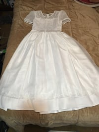 White First Holy Communion/Flower Girl Dress Washington, 20009