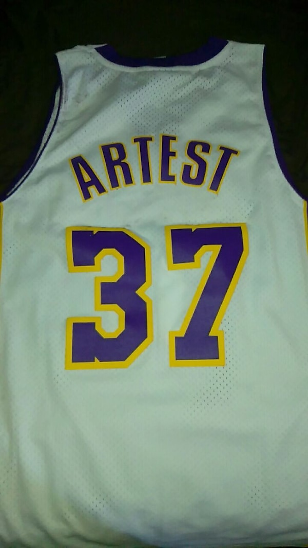 b998c54b9f9d Used Signed Autographed Ron Artest Jersey for sale in Los Angeles - letgo