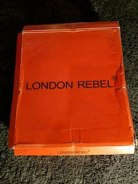 New London Rebel black boots size 36  Greater London