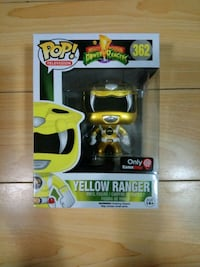 Funko Pop Yellow Ranger (Metallic) GameStop Excl. Delta, V4E 3G3
