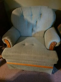 gray fabric padded glider chair Mission, V4S 1B1