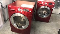 "24"" Apartment size set washer and dryer red LG  Toronto, M9M"