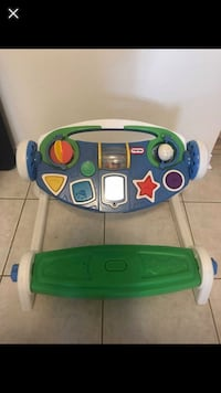 Fisher price sit and stand and baby items Mississauga, L5M