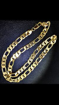 No fade 24kt gold plated ITALY 24 inch chain Laval, H7N