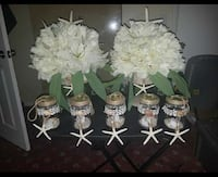 white lilies and petaled flowers centerpieces Palm Bay, 32909