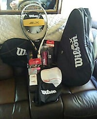 Wilson Pro Package Tennis Racket with Case