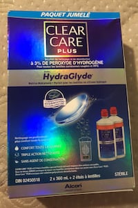 Brand new clear care plus