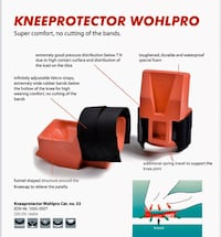 Construction/Professional/Medical knee pads. Long Lasting