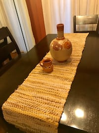 Table runner and home decor jarritos