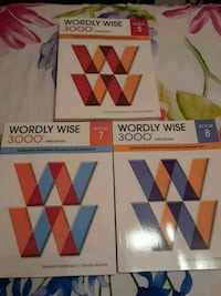 Wordly Wise books for grades 5, and 8 Fairfax, 22030
