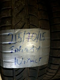 tire with installation 280$ good condition  Toronto, M3J 2B9