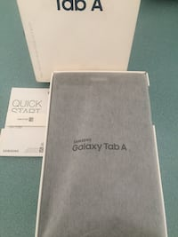 "NEW IN BOX! Samsung Galaxy Tab A.  8"" screen. 32GB. Black     Stoney Creek, L8G 1C2"