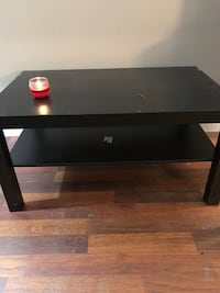 rectangular black wooden coffee table Port Jefferson Station, 11776