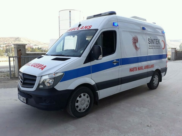 Sold Mercedes Sprinter 2016 Ambulans Letgo