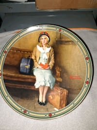 Collector plate Norman Rockwell  Smyrna, 37167