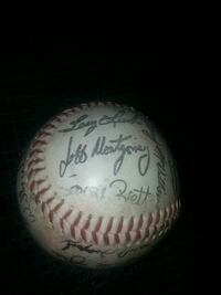 Rare Royals 1980s autographed ball Springfield, 65803