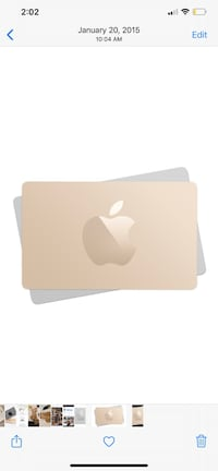 $170 Apple Store Gift Card Toronto, M6A 2T9