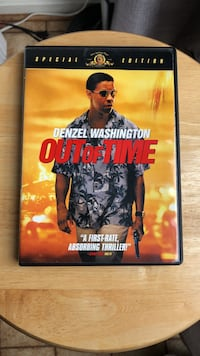 Out of Time DVD Movie Laurel