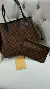 brown Louis Vuitton leather tote bag Mississauga, L5T 2L8