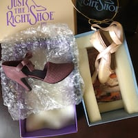 Just the Right Shoe Miniature Collectable NIB Mint  Seattle, 98102