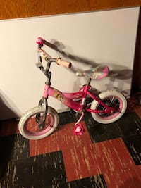 toddler's pink and white bicycle Coventry, 02816