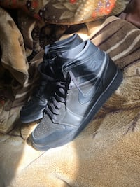 ALL BLACK JORDANS 1s PRICE CAN BE ADJUSTED 10.5 Brandywine, 20613