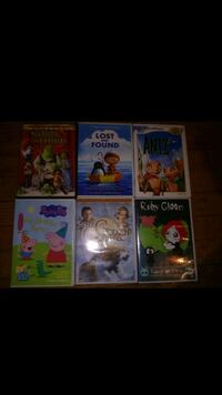 Sold together a package of 6 movies used in good c Chicago, 60659