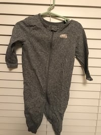 Roots zipper one Piece  size 12-18 month