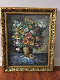 Oils painting in Gilded gold frame Los Angeles, 90005