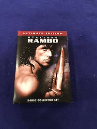 Rambo 3 DVD Box Set Calgary, T2M 2P2