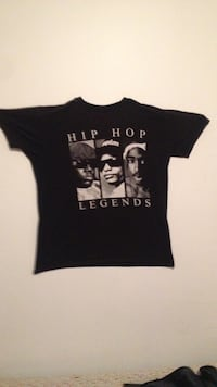 black hip hop legends t-shirt null, N0E 1Y0