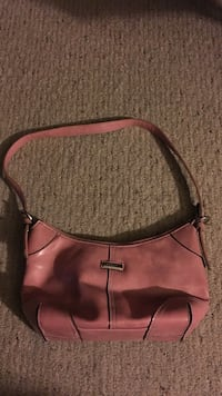Women's pink leather bag Maple Park, 60151