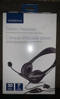 Insignia Stereo Headset